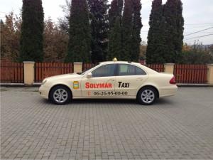 Taxi Solymár városában!